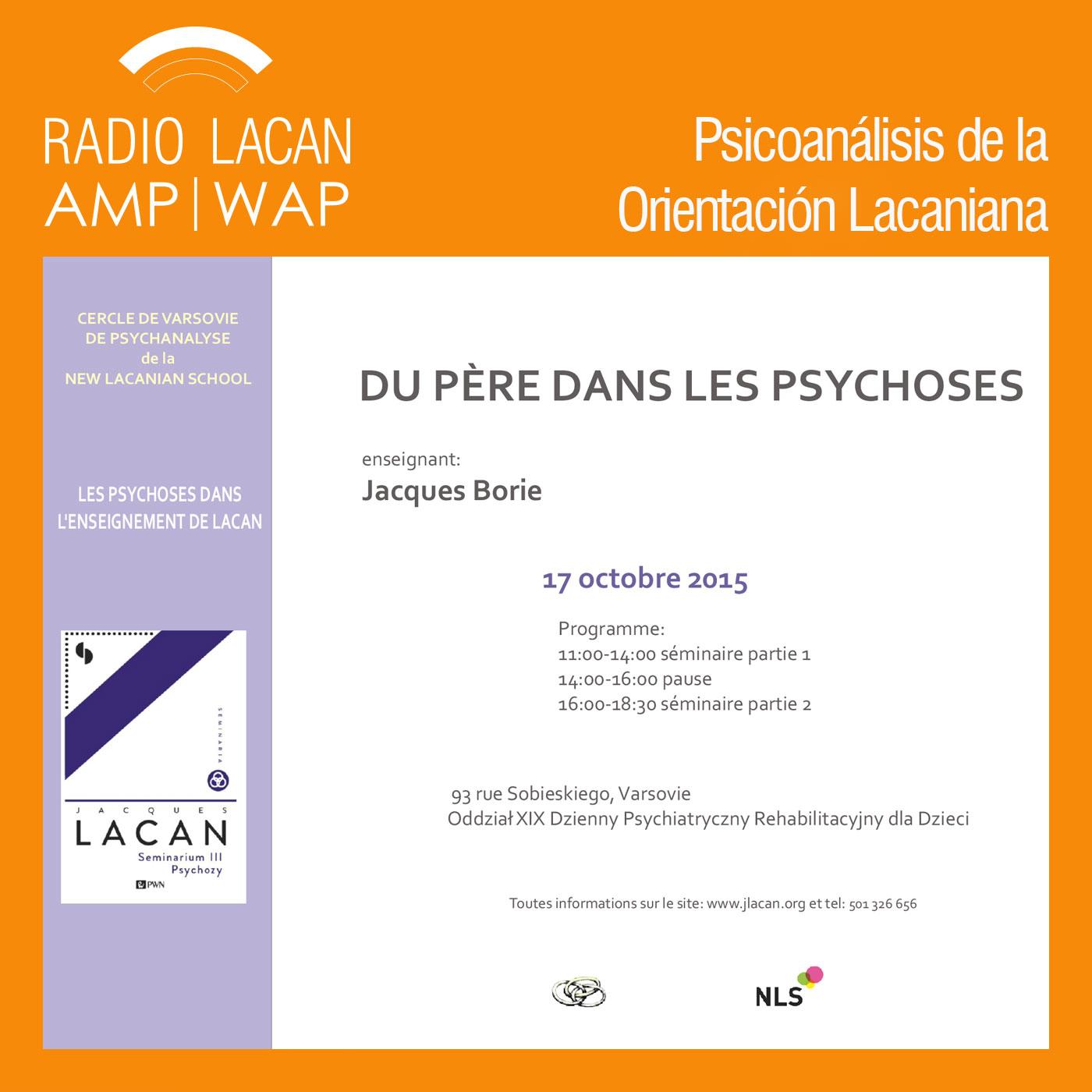 RadioLacan.com | <![CDATA[Círculo de Varsovia de psicoanálisis de la NLS: