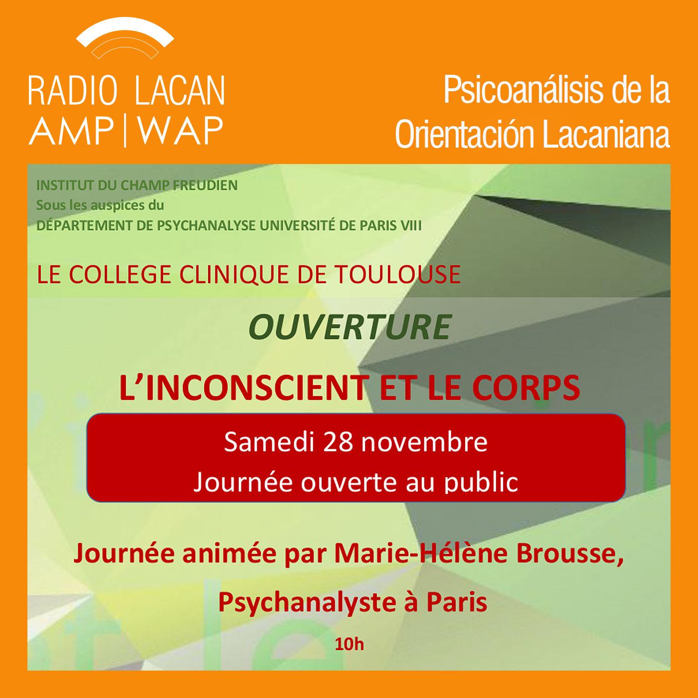 RadioLacan.com | <![CDATA[Marie-Hélène Brousse en Toulouse]]>