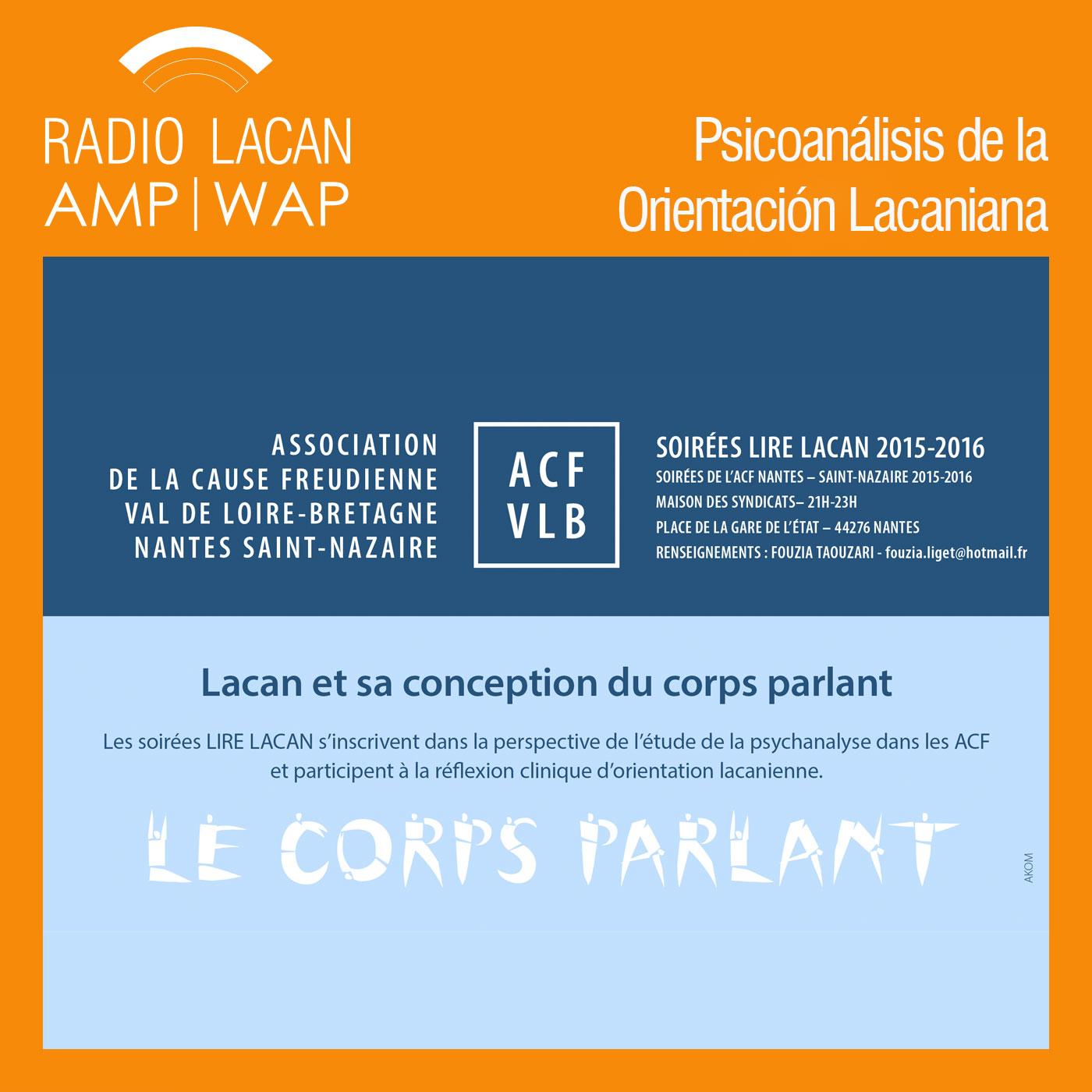 RadioLacan.com | <![CDATA[Noche de la ACF - Leer Lacan. Lacan y su concepción del cuerpo hablante]]>